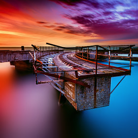 Concrete stuff in the water. by Magnus Larsson on 500px.com