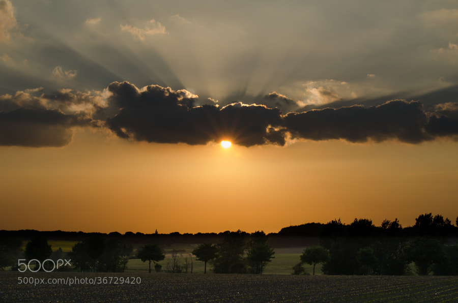Photograph sunset II by Gunter Werner on 500px
