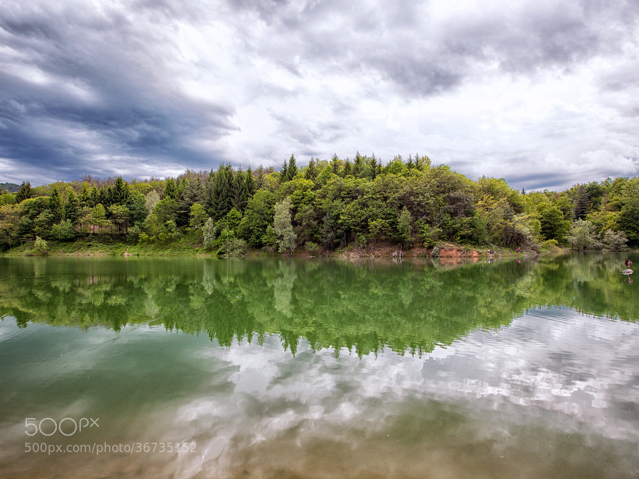 Before the Storm [Pianfei Lake] by Samuele Silva (samuelesilva)) on 500px.com
