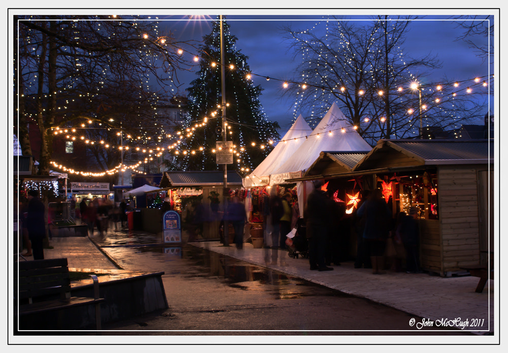 Photograph Christmas Market Galway by John McHugh on 500px