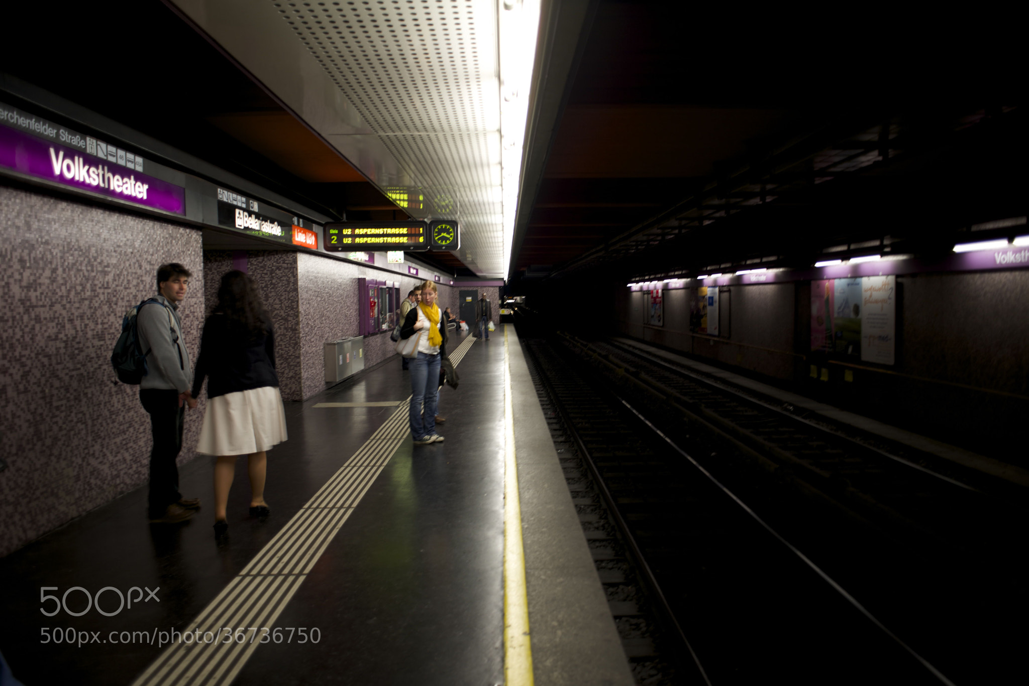 Photograph Metro Vienna by Markus  on 500px