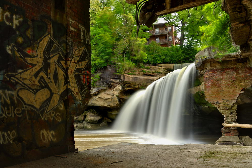 Photograph East Falls of the Black River by Jeff  Burcher on 500px