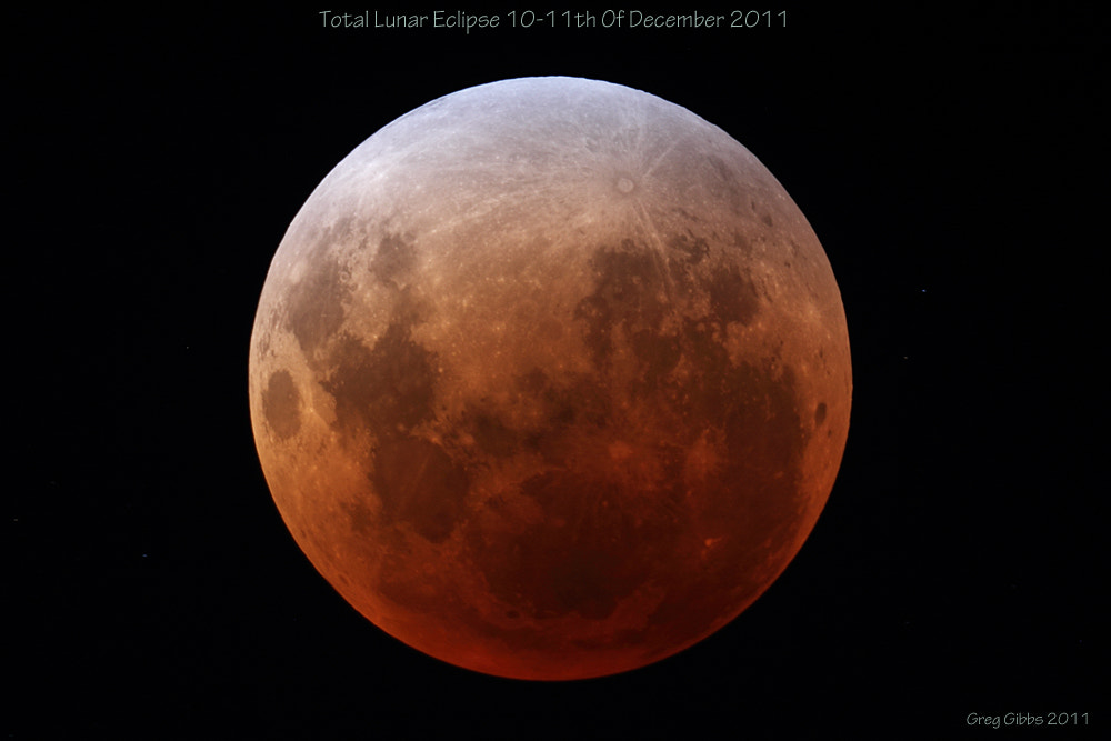 Photograph Lunar Eclipse December 2011 by Greg Gibbs on 500px