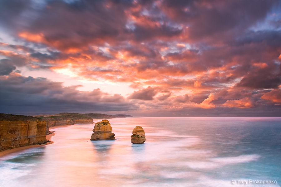 Photograph Sunrise at Gibsons Steps by Yury Prokopenko on 500px