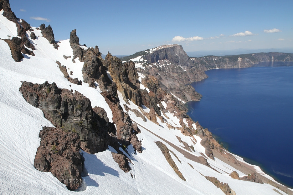 Photograph Crater Lake: Llao Rock by Aspen Knight on 500px