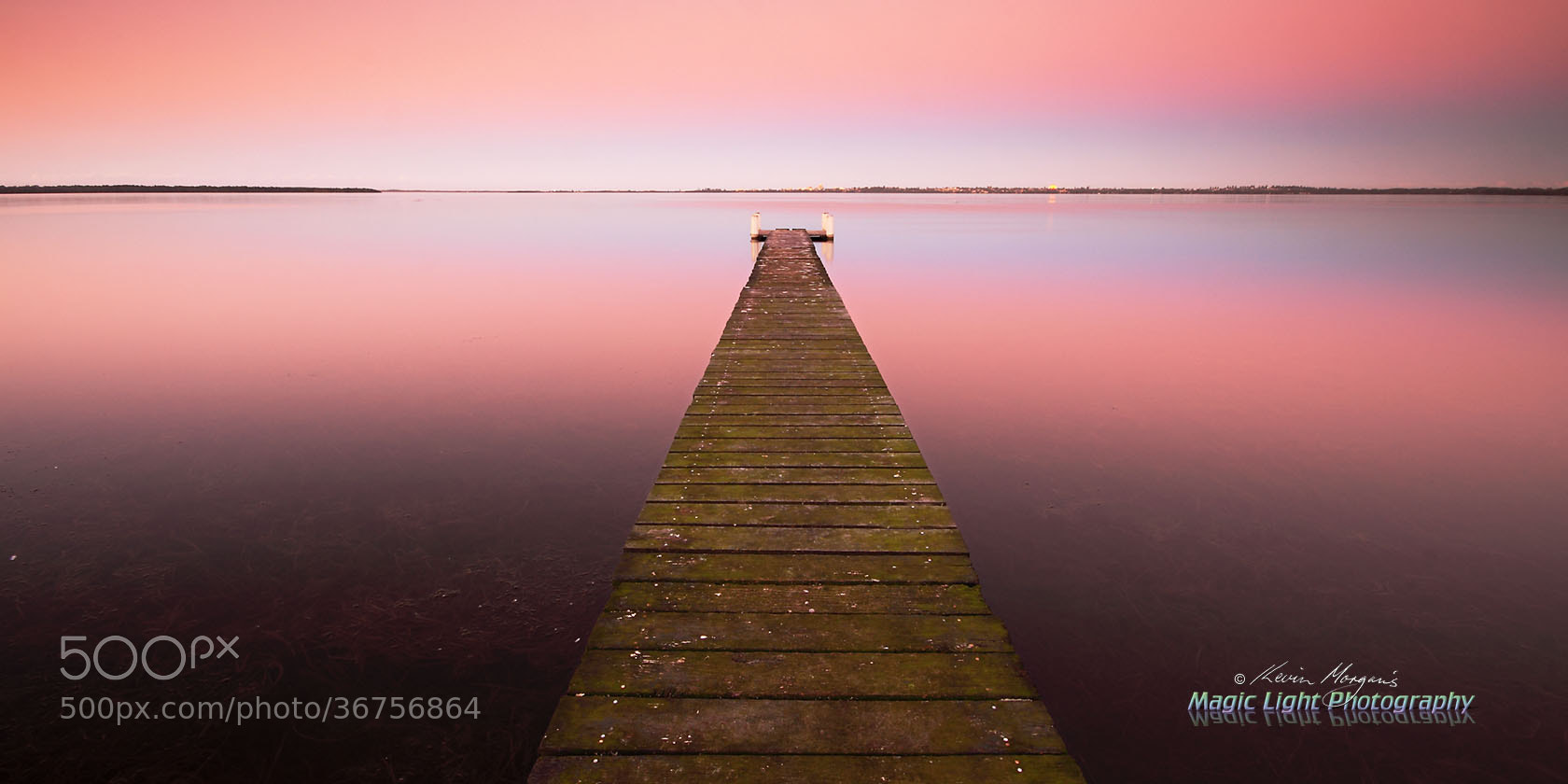 Photograph Berkeley Vale Jetty Sunset by Kevin Morgan on 500px