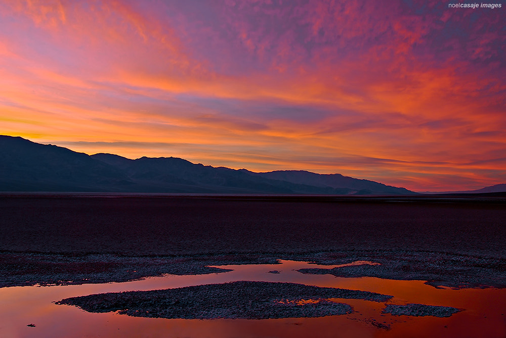 "Photograph ""A FIERY CONCLUSION"" Death Valley National Park by noel casaje on 500px"