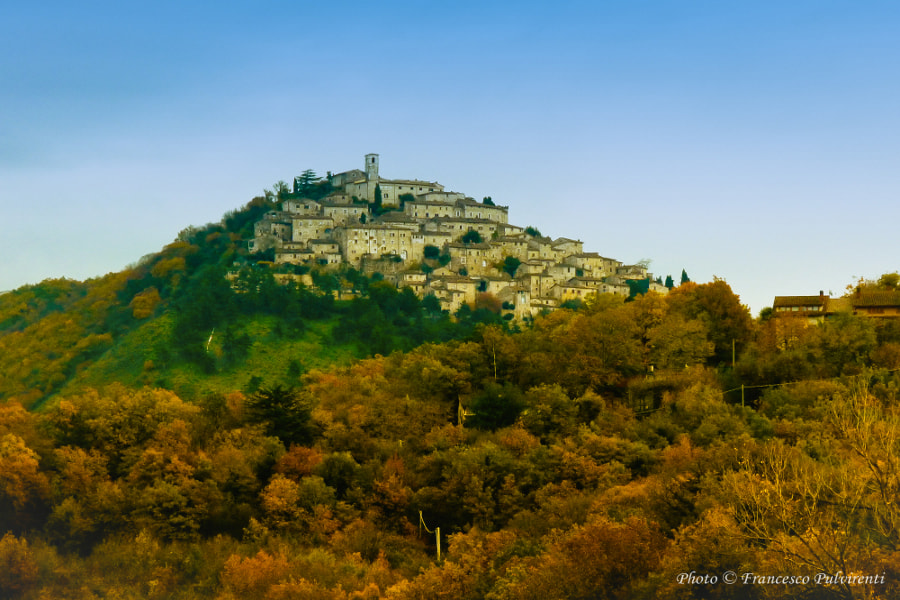Photograph the country Labro (Rieti) by Francesco Pulvirenti on 500px