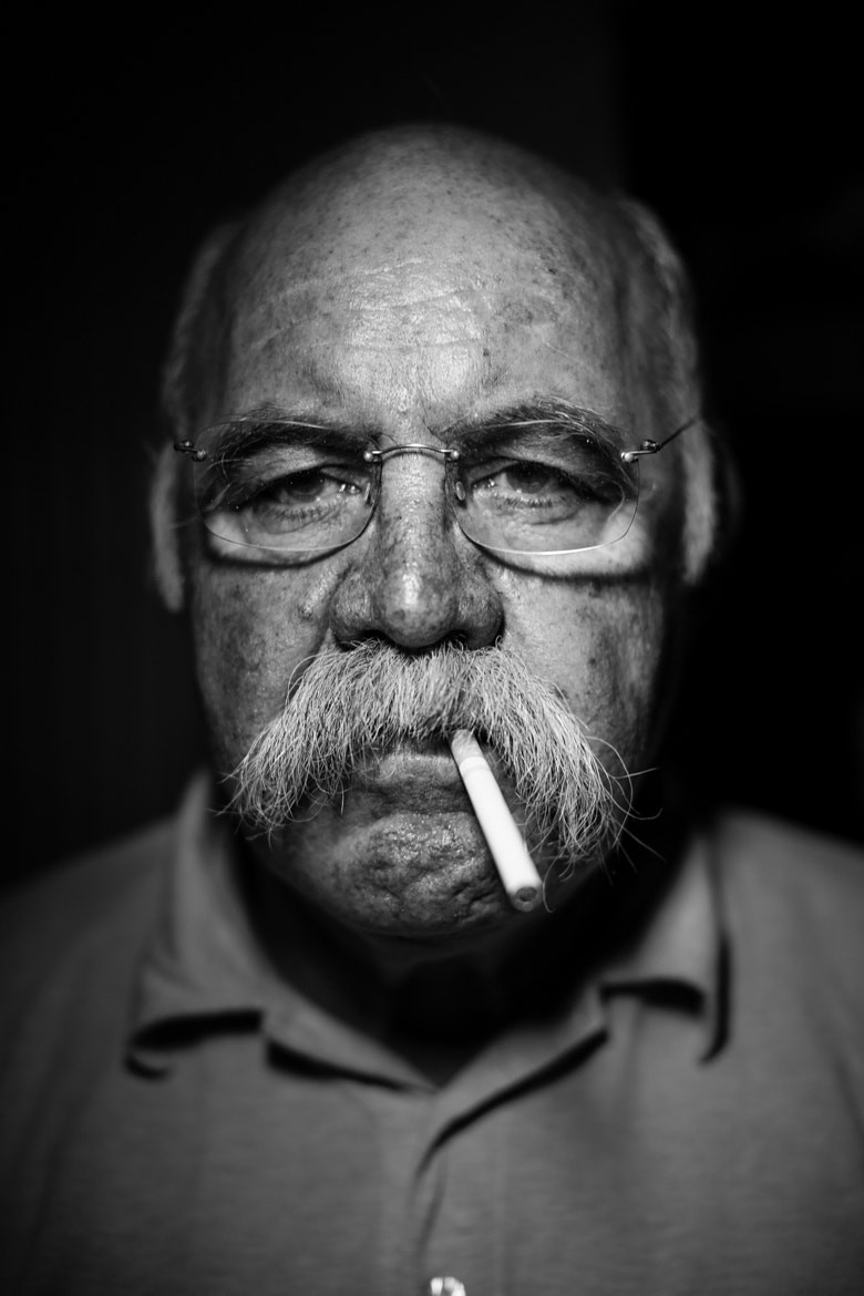 Photograph portrait of my father by Beniamino Gelain on 500px