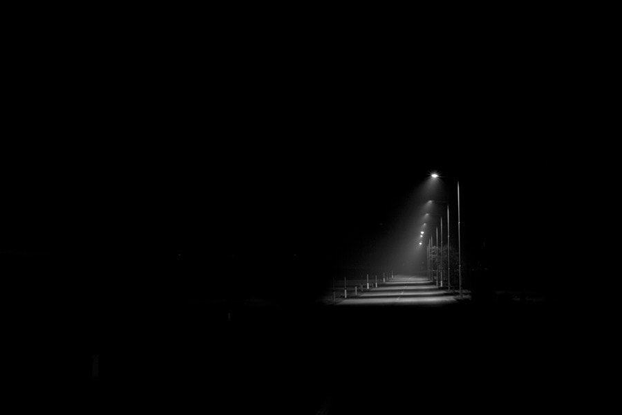 Photograph a street in the dark by Manfred Huszar on 500px