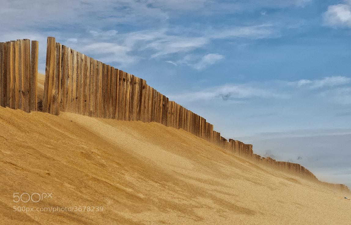 Photograph Barrera dunas by César Comino García on 500px