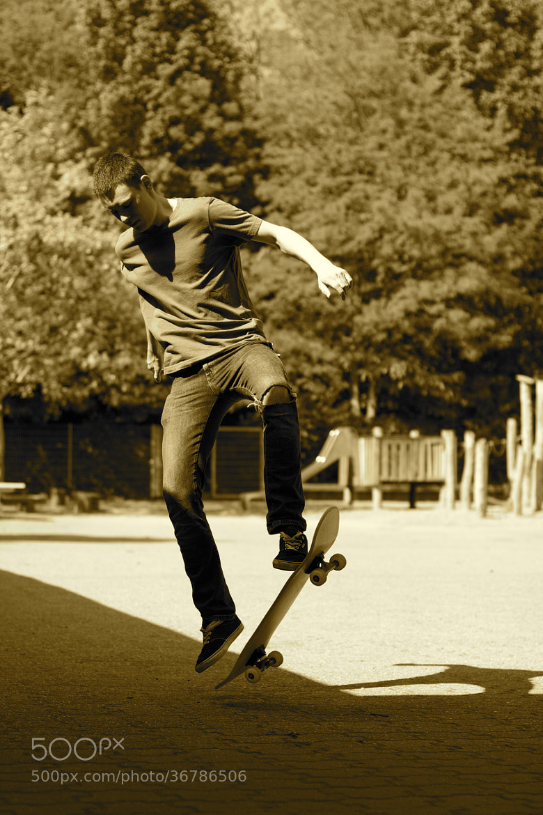 Photograph Lucas skatin´ by theonlyheinrich on 500px