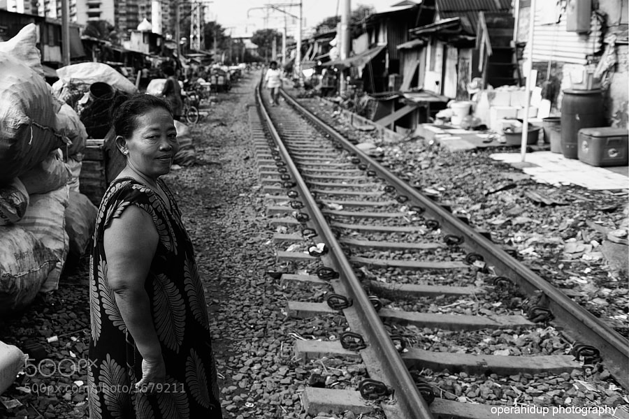 Photograph A STORY OF THE RAILWAY,TANAH ABANG,JAKARTA  by OPERAHIDUP PHOTOGRAPHY on 500px