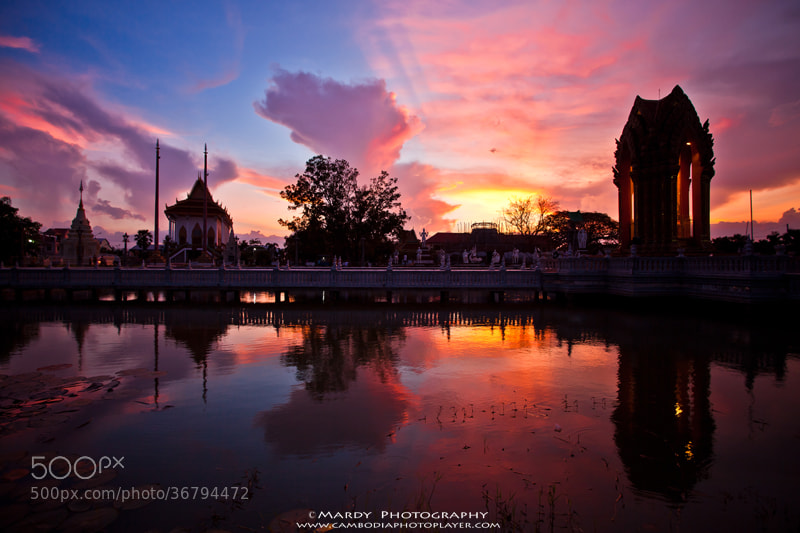 Photograph Super sunset! by Mardy Suong Photography on 500px