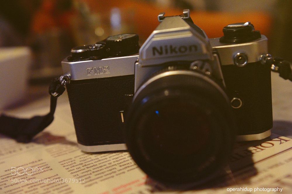 Photograph NIKON FM2 by OPERAHIDUP PHOTOGRAPHY on 500px