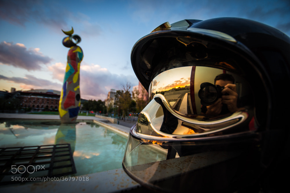 Photograph BCN Firefighter by Aleix Carapeix on 500px