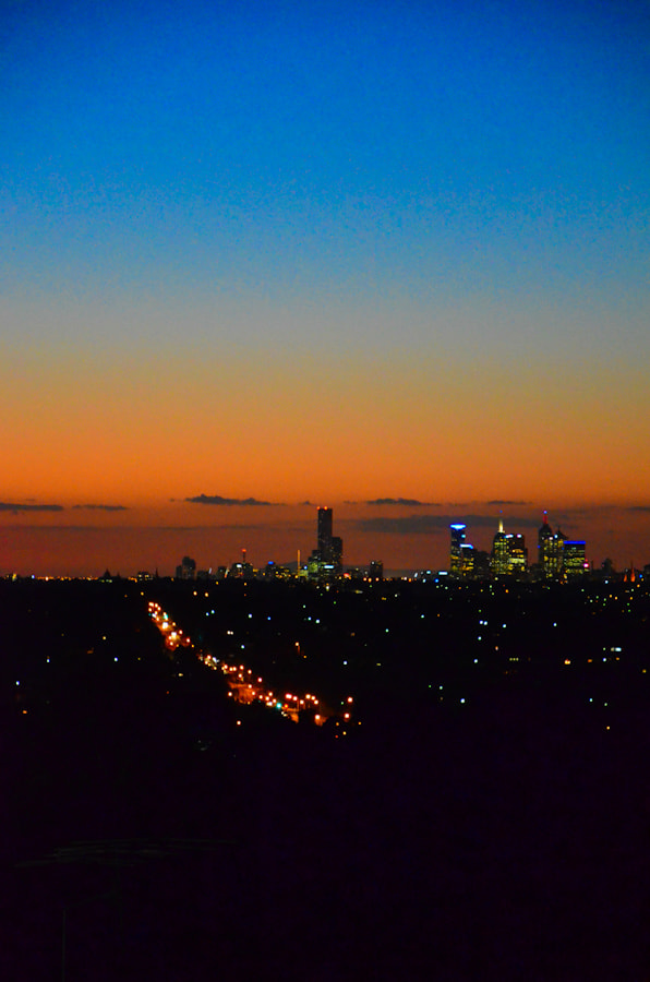 Photograph Melbourne Dusk by Harry Chow on 500px