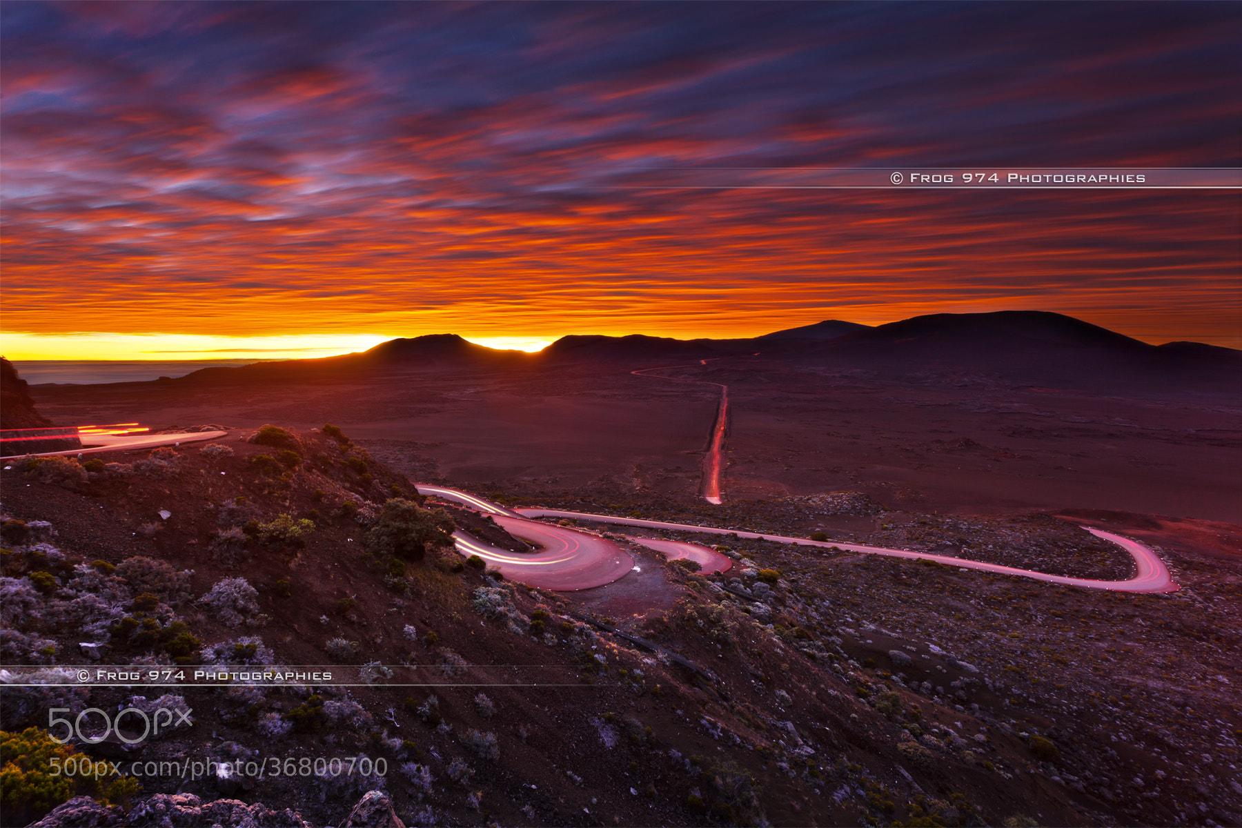 Photograph Sunrise on Plaine des Sables by Franck GRONDIN on 500px