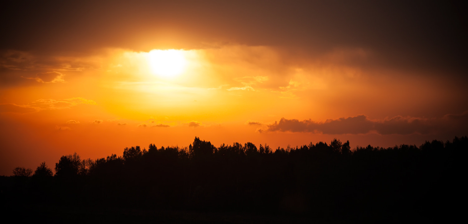 Photograph Country side sunset by Sergey Shaposhnikov on 500px