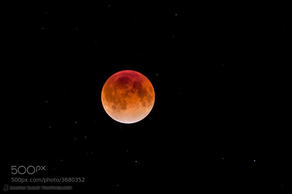 Photograph Dec 2011 Lunar Eclipse by Martin Bailey on 500px