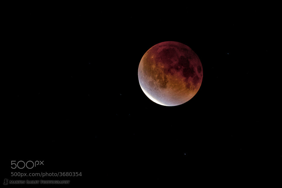 Photograph Dec 2011 Lunar Eclipse by Martin Bailey on 500px