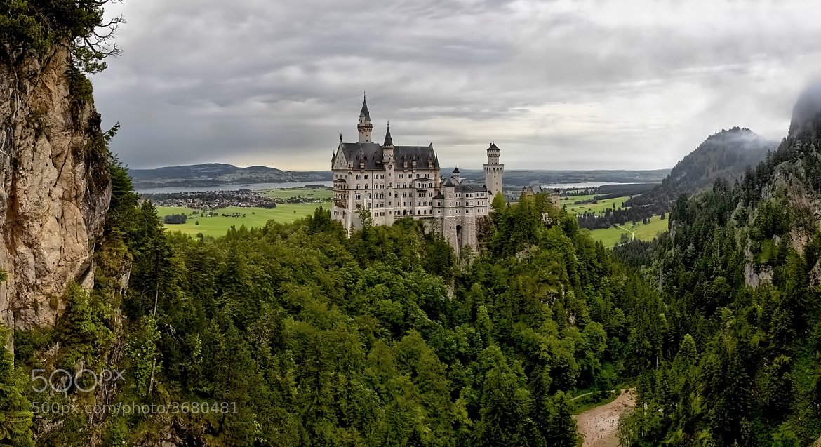 Photograph Neuschwanstein Castle by Laimonas Ciūnys on 500px