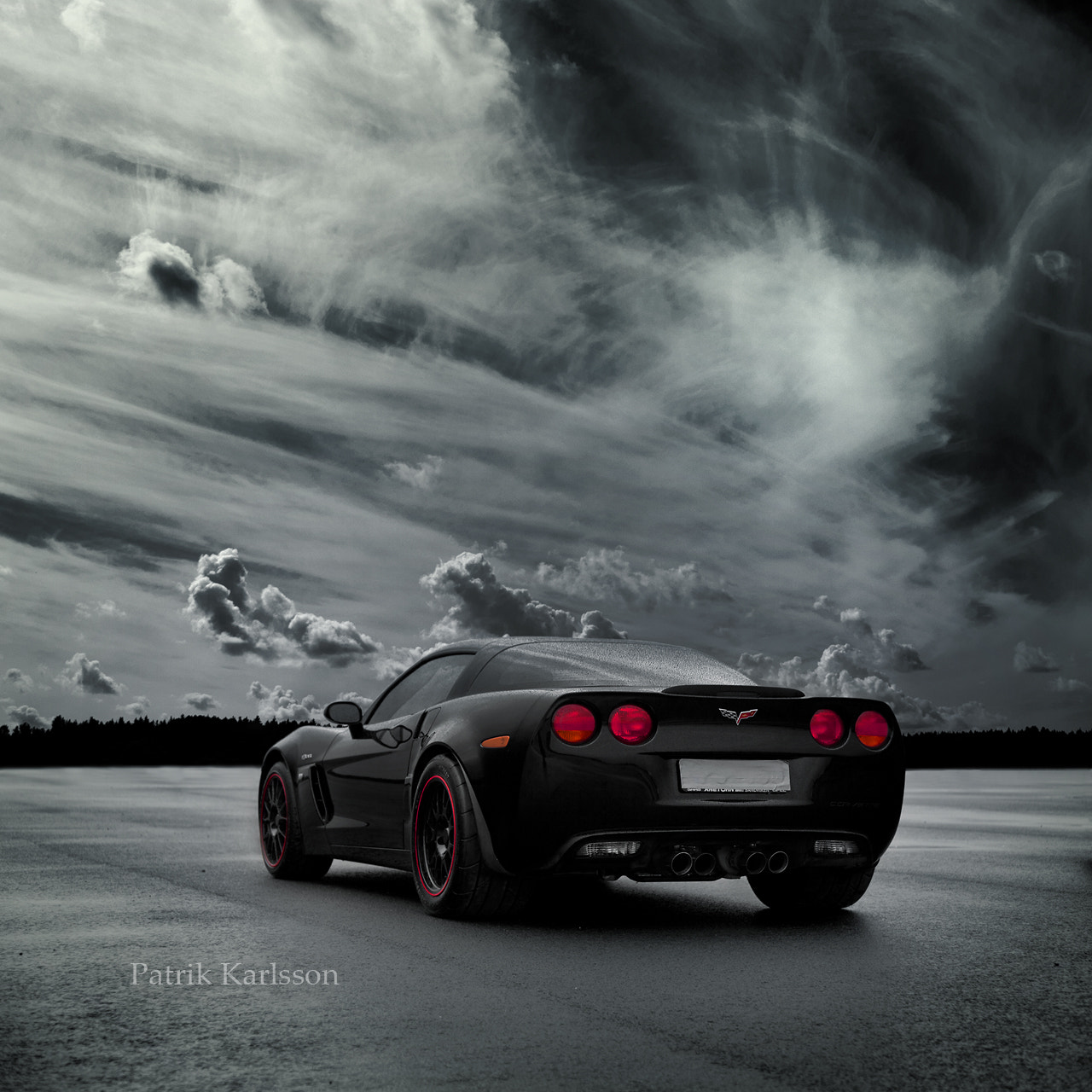 Photograph Corvette by Patrik  Karlsson on 500px