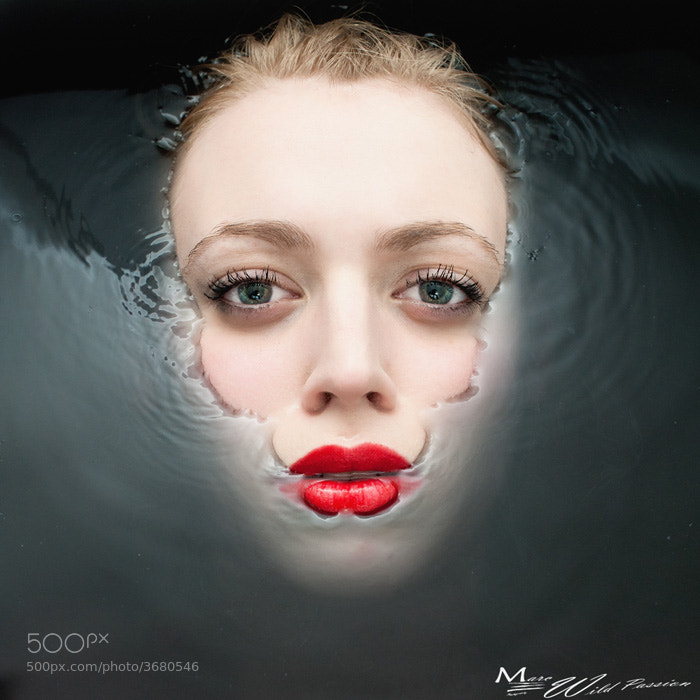 Woman, Water and colors