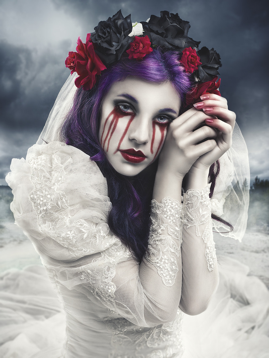 Photograph Bloody tears by Rebeca  Saray on 500px