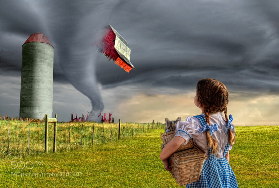 Photograph Dorothy and the Tornado by Adam Baron on 500px