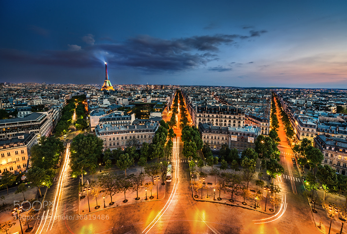 Photograph Goodnight Paris ! by Niki Feijen on 500px