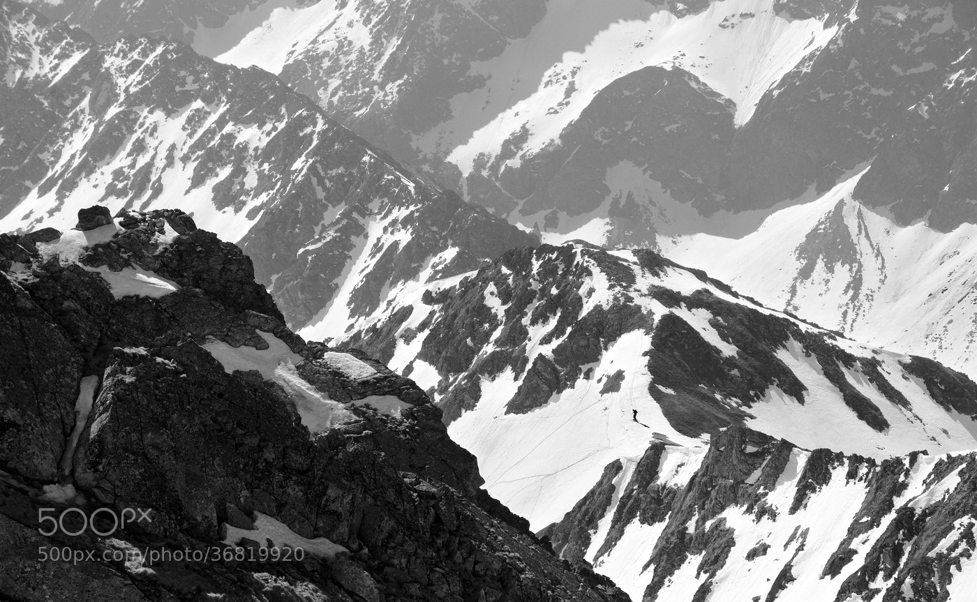 Photograph  Skier by Lukas Zugaj on 500px
