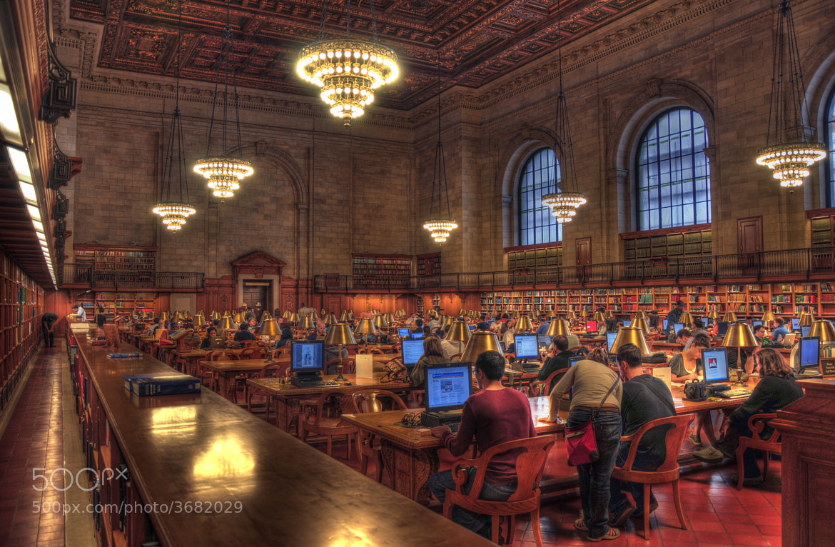 Photograph New York Public Library by Adam Baron on 500px