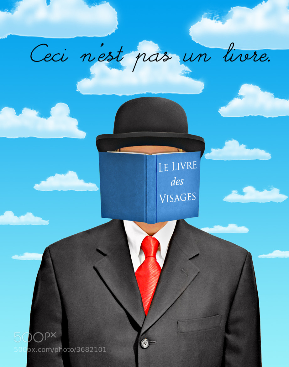 Photograph Le Livre Des Visages (facebook) by Adam Baron on 500px