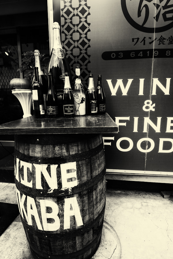 Photograph Wine in B&W by David Edenfield on 500px