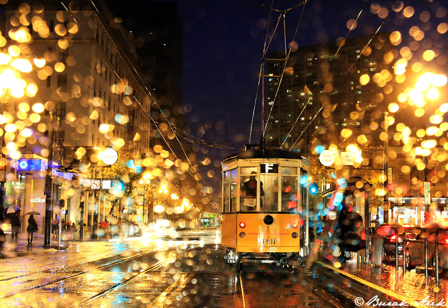 Photograph San Francisco In The Rain by Burak Arik on 500px