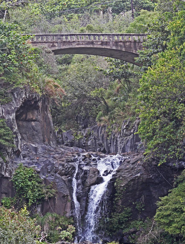 Photograph Hana Waterfall by Ashwin Visvanathan on 500px