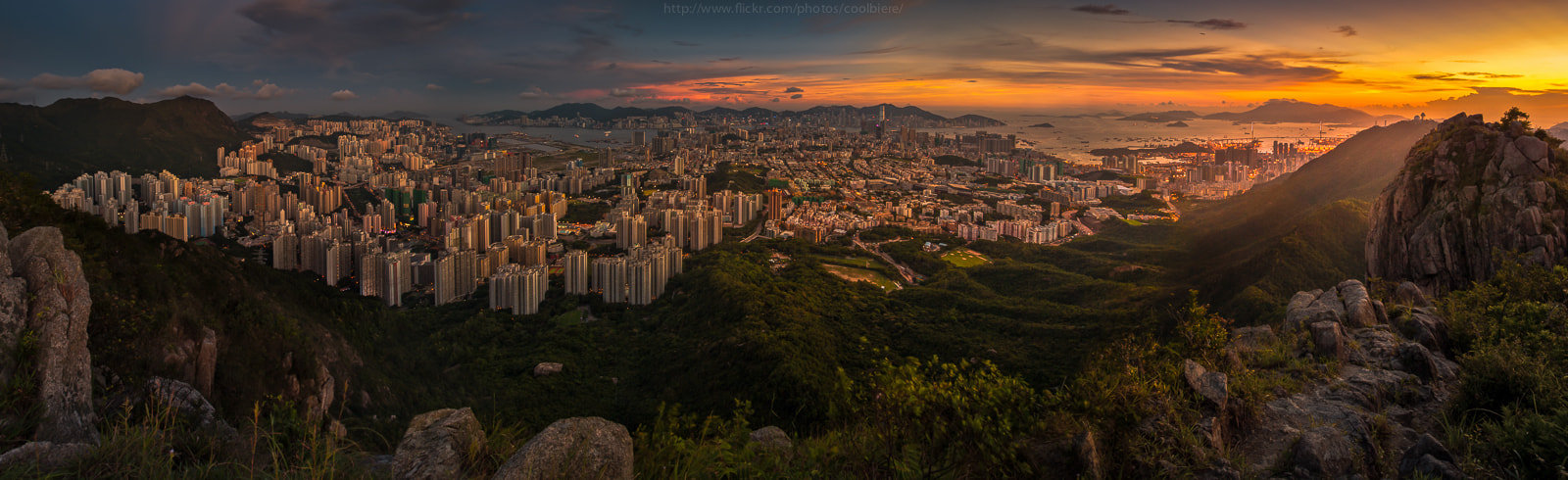 Photograph Hong Kong 180 degree by Coolbiere. A. on 500px