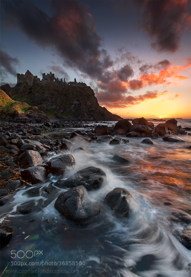 Photograph Dunluce Castle by Stephen Emerson on 500px