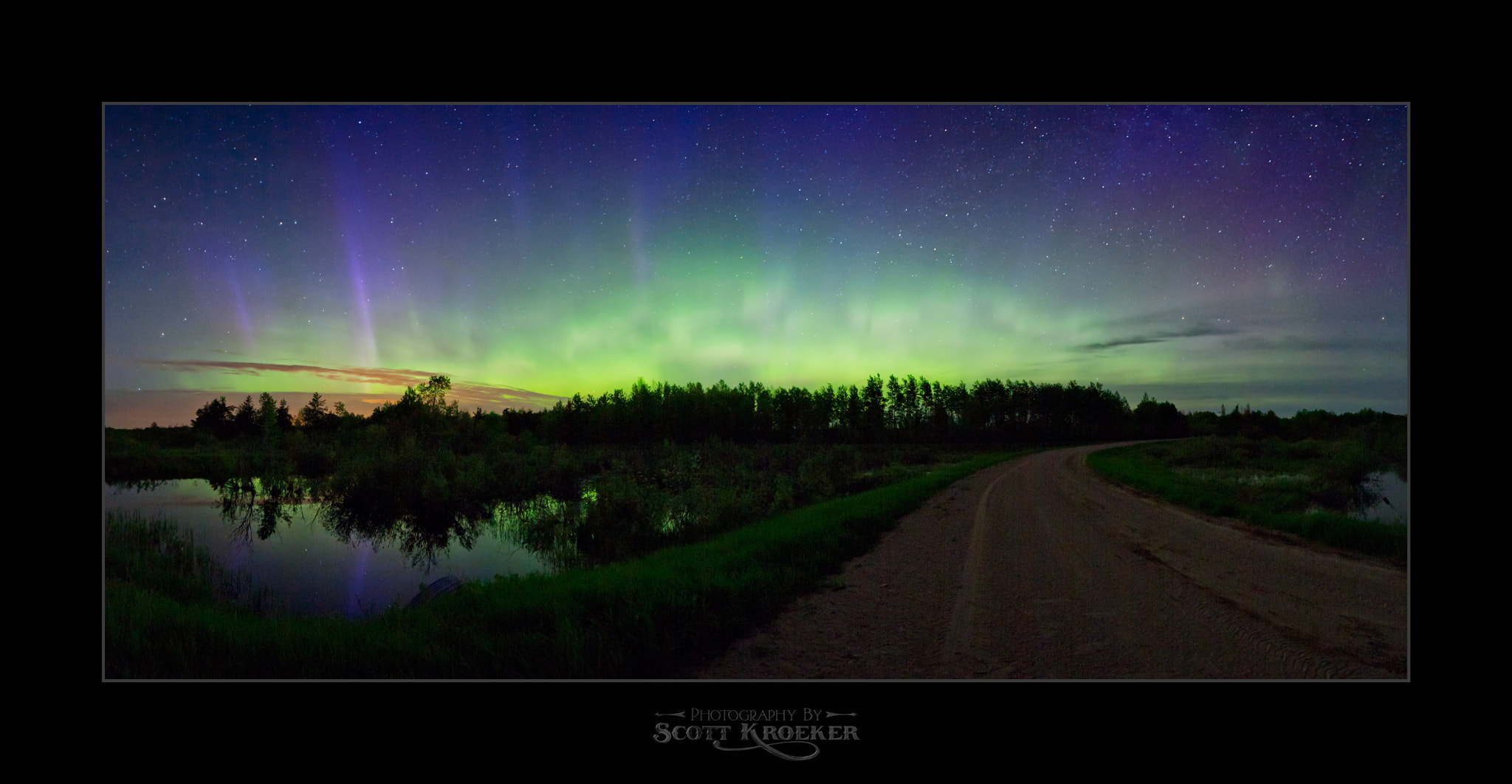 Photograph Aurora at Turtle's Hideout by Scott Kroeker on 500px