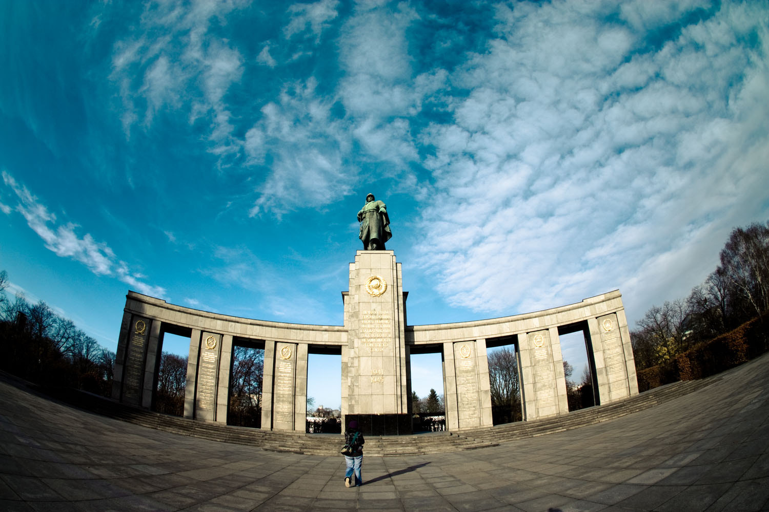 Photograph Soviet Memorial at Tiergarten by Antonio Rull on 500px