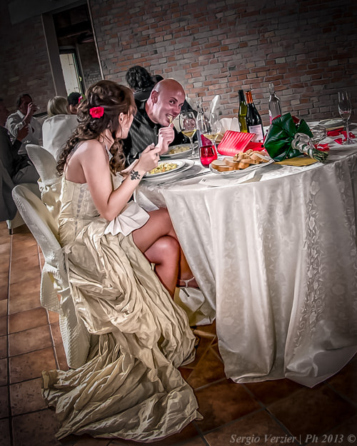 Photograph wedding dinner by Sergio Verzier Photography on 500px