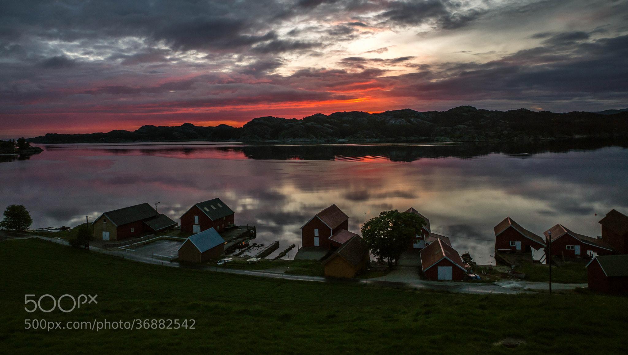 Photograph Another Skadberg sunset by Magnus Østebrød on 500px
