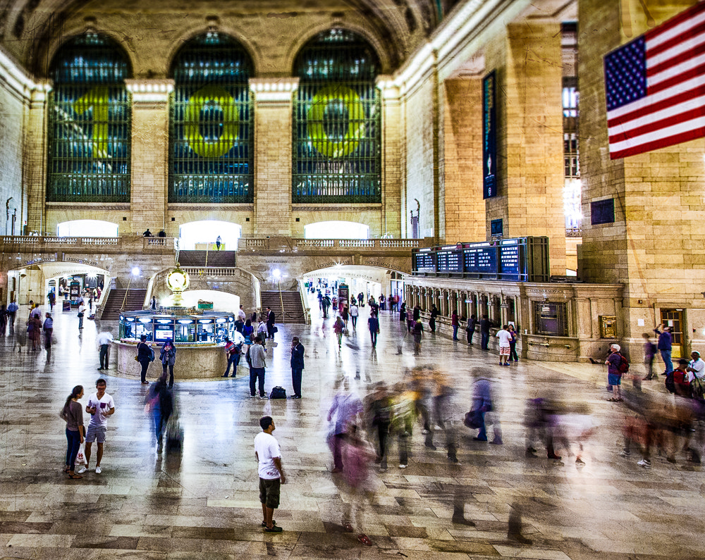 Photograph Grand Central Station Hustle by Paul Bartell on 500px