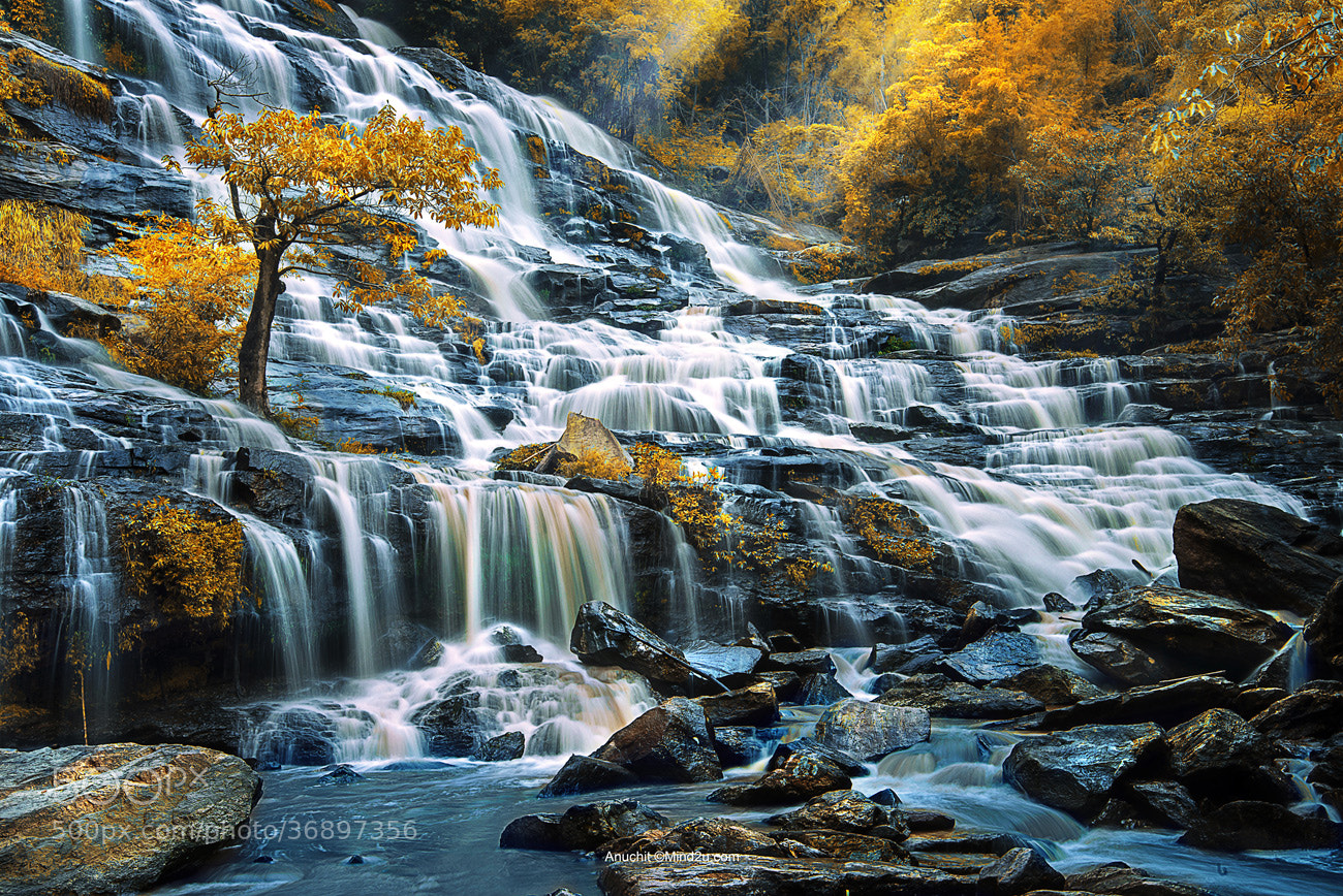 Photograph Maeya Waterfall by Anuchit นายบันทึก on 500px
