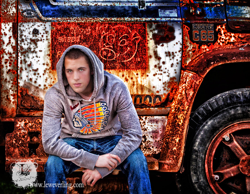 Photograph The young man and his truck by Lew Everling on 500px