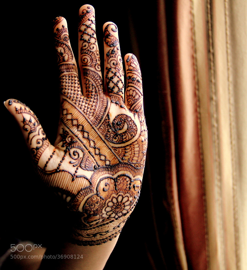 Photograph Henna - The Morning After  by Sowmya Ranganathan on 500px