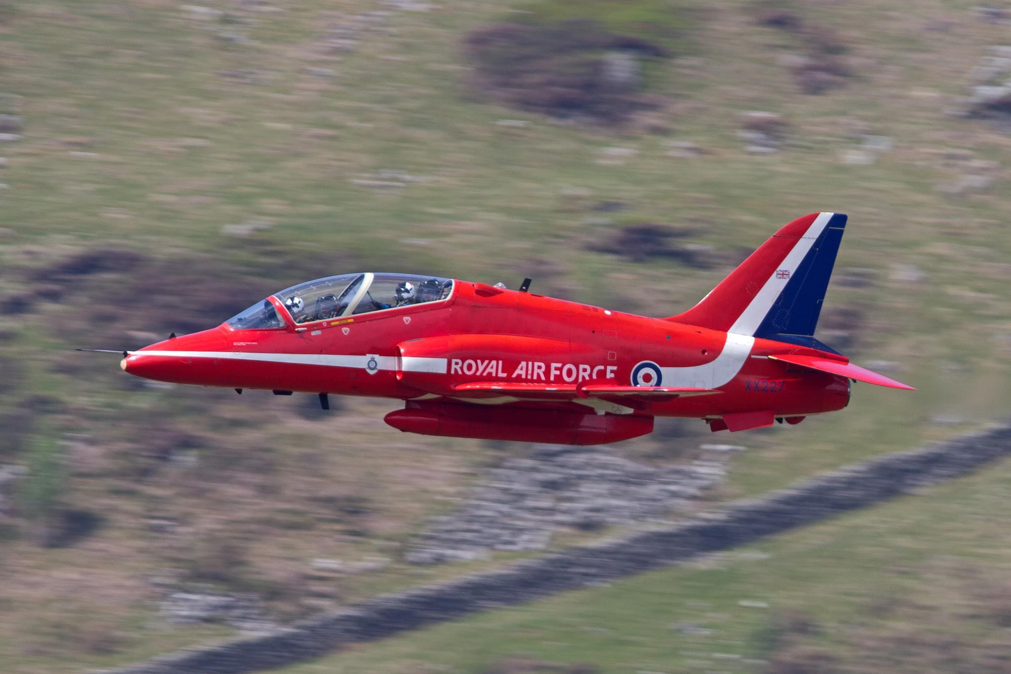 Photograph Royal Air Force Red Arrows Aerobatic Team by Rob Birmingham on 500px