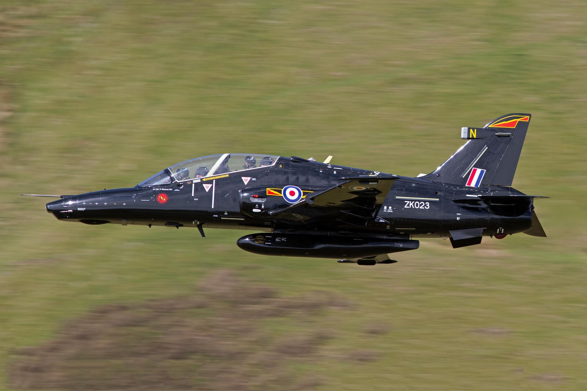 Photograph Royal Air Force Hawk T2 by Rob Birmingham on 500px