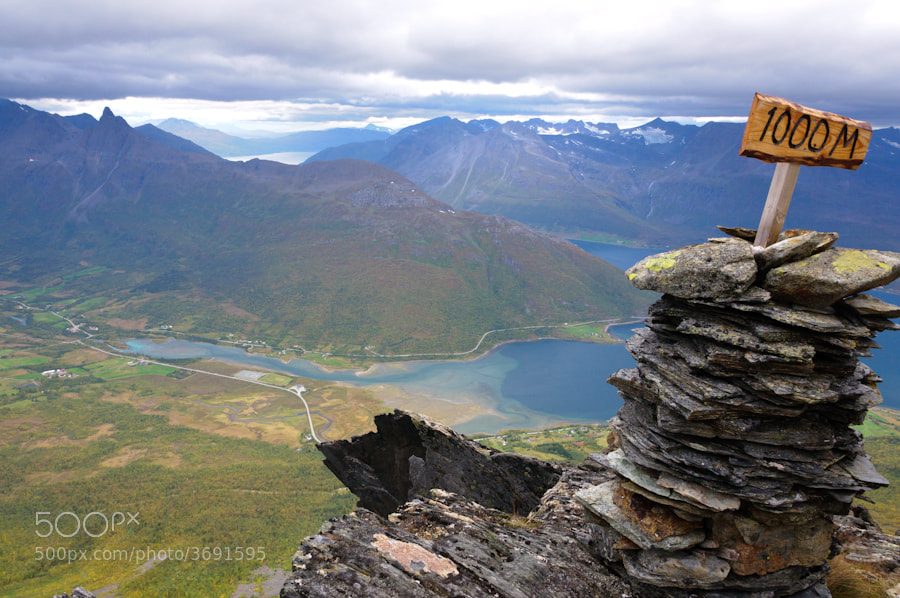 Photograph 1000 meters high by Terje Lein-Mathisen on 500px